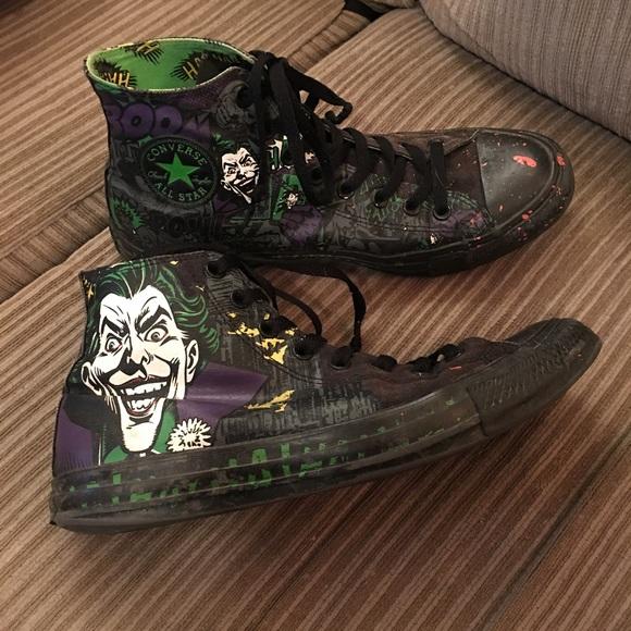52d07f853a24 Converse Other - D.C. Joker Converse sz 9